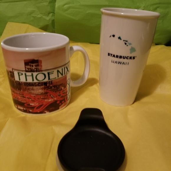 Starbucks ceramic cups